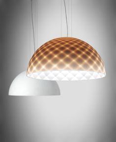 Capitone Pendant by Alma Light — Dining Pendant, Pendant Chandelier, Light Effect, Semi Transparent, Fashion Lighting, Dinner Table, Contemporary, Modern, Quilt Patterns
