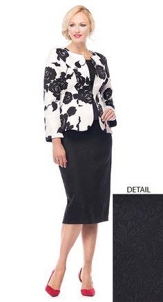 White Black for Elegant Women Church Dresses