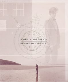 I used to think one day we'd tell the story of us. #doctorwho