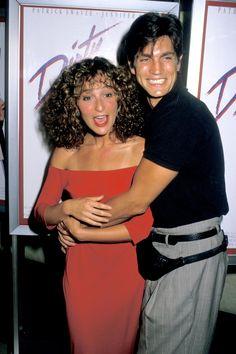 See photos from the original 1987 premiere of Dirty Dancing Eric Roberts, Dirty Dancing, Robert Movie, Actress Eva Green, Female Movie Stars, Jennifer Grey, Patrick Swayze, Foto Art, Old Movies