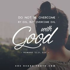 Image result for Romans 12 21
