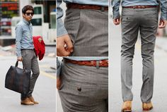 Men's Slim Fit pants (From S$26.99)