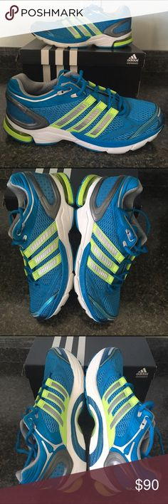0a4594bf3 MENS ADIDAS Supernova Sequence Running Sneakers Brand New With Box ❣  Features Electric Blue  amp