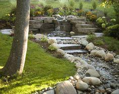 backyard ponds   backyard-waterfall-pond-creek-river