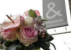 & bloemen Trouwboeket www.enbloemen.nl
