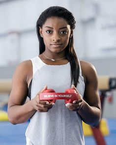 "164.5k Likes, 333 Comments - Simone Biles (@simonebiles) on Instagram: ""Before an entire nation can believe in you, you have to believe in yourself. Thanks Beats for the…"""