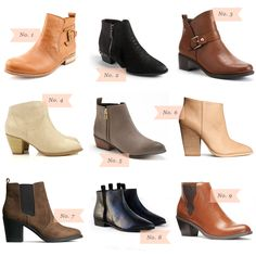 Must Have: Ankle Boots Under $50