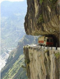Travel Discover One of the world& most dangerous roads - Karakoram Highway Pakistan Places Around The World The Places Youll Go Places To See Around The Worlds Scary Places Karakorum Highway Dangerous Roads Jolie Photo Wonders Of The World Places Around The World, The Places Youll Go, Places To See, Around The Worlds, Scary Places, Karakorum Highway, Beautiful World, Beautiful Places, Amazing Places