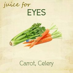 Homemade Juice Therapy: Eyes