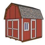 This step by step diy project is about gambrel shed plans. I have designed this barn storage shed, so you can finally have that workshop you have always dreamed about. In addition, you have a super easy access to the shed, due to the double doors. 12x20 Shed Plans, Diy Shed Plans, Storage Shed Plans, Barn Plans, Build A Playhouse, Wooden Playhouse, Pergola Plans, Diy Pergola, Small Pergola
