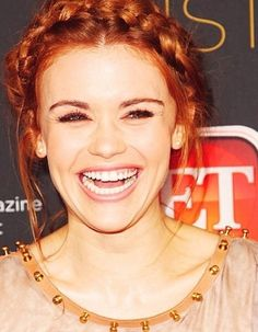 Candid shot of holland Roden from teen wolf