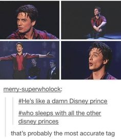 Petition for the next Disney princess movie to be about Jack sleeping/falling in love  with other Princes.