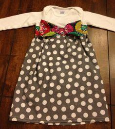 Fabby Chic: Week 8 Part Deux-Onesie Dress
