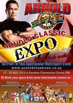 Arnold Classic South Africa 2016 IFBB #bobybuilding #competition #fitness #bikini #africa #southafrica #gym #expo #arnold #arnoldclassic