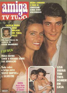 revista amiga e novelas: REVISTA AMIGA - Nº 675 - FÁBIO JR E BRUNA LOMBARDI - 27/04/83