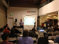 Thanks to @khrabrov for the Scala for Startups meetup @klout! --@binhtran