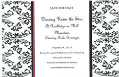 Dancing Under the Star  August 24    Bethany Hall