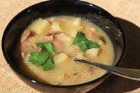 Surinaams eten!: Kasaba soepoe: Surinaamse cassavesoep (met kokosmelk)