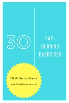 30 Fat-Burning Workout Moves to Do at Home, at the Gym, Anywhere! Target your booty, core, ABS, shoulders, back, and MORE with these dynamic moves!