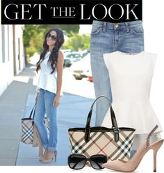 """peplum"" by stacy-gustin ❤ liked on Polyvore"