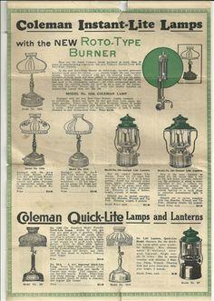 13 Best Vintage Coleman Lanterns Images Coleman Lantern