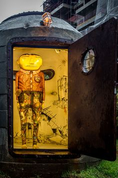 The bunker | OSGEMEOS Official Website - projects and news