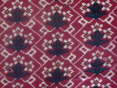 Teen Phool, Patola - Double Ikat from Patan, Gujarat India