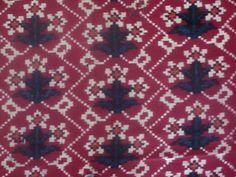 Teen Phool, Patola - Double Ikat from Patan, Gujarat India