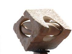 Split Torus in a Cube (SandStone)