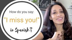 Learn the pronunciation of this very useful phrase in Spanish. Free Spanish Lessons, Spanish Phrases, World Languages, Spanish Teacher, Teaching Strategies, I Missed, I Miss You, Sayings, Learning