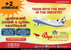Study #Aviation #Travel & #Tourism courses at Riya Institute. Train with the best in the industry.