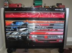 matco special edition muscle car tool box