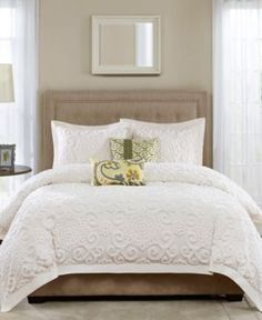 Harbor House Suzanna Full/queen Duvet Cover Set - Create a cozy look in your bedroom with the classic Harbor House Suzanna Duvet Cover Set. Accented with a large chain stitch embroidered, the beautiful bedding is the perfect addition to any room's décor. King Duvet Cover Sets, King Comforter Sets, Duvet Sets, Duvet Covers, Queen Duvet, Beach Comforter, Red Comforter, Comforter Cover, Ivory Bedding