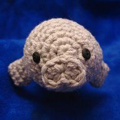 Ravelry: Crochet Swordfish and Manatee Pattern Set PDF pattern by NeedleNoodles