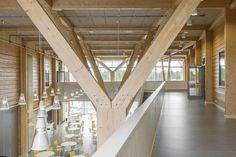 The Purity of Expressive Timber Structure Celebrated in Finland's Pudasjärvi Campus, © RA-Studio Raimo Ahonen