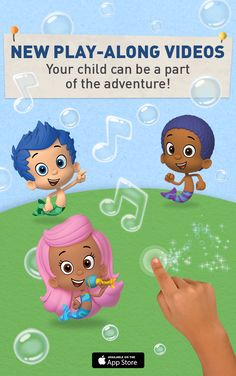 Introducing your preschoolers new favorite app. Noggin is home to hundreds of full episodes from award-winning shows, including interactive videos where kids become a part of the story. They can swipe, tap and even talk to their favorite characters in shows like Blaze, Bubble Guppies and Team Umizoomi. Install today!