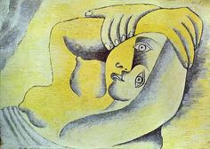 Picasso, Pablo (1881-1973) - 1929 Nude on a Beach