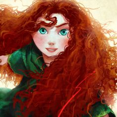 Merida: another red head to love. I feel we have more in common then Ariel and I do. O.o