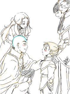 Honora meets Avatar Aang