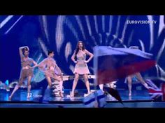Ivi Adamou - La La Love - Live - 2012 Eurovision Song Contest Semi Final 1.
