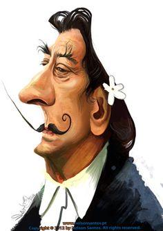 Nelson Santos — Caricaturas de personalidades famosas da historia e sociedade portuguesa e internacional
