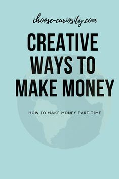 Part-time money making tips, also online! Way To Make Money, How To Make, Part Time, Curiosity, Self Improvement, About Me Blog, Creative, Tips, Counseling