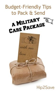 Military Care Package...for the little bro one day