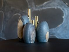 Golden 'Menhirs'  | WORK | DAN YEFFET DESIGN STUDIO