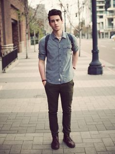 Men's Street Style Outfits For Cool Guys (56)