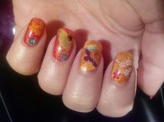 CNY 2015 NAGELS - DEEL 3 Read more: http://www.nailwaysblog.nl/2015/02/cny-2015-nagels-deel-3.html #CNY #nailart #nails #waterdecals #sponged
