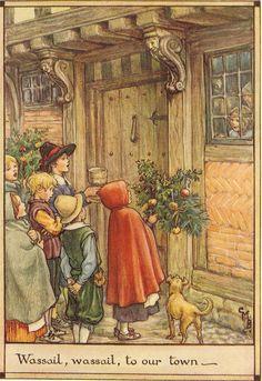 Vintage 1928 Cicely Mary Barker Children's by printsandpastimes