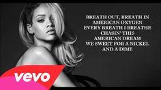 Rihanna - American Oxygen (Lyrics)