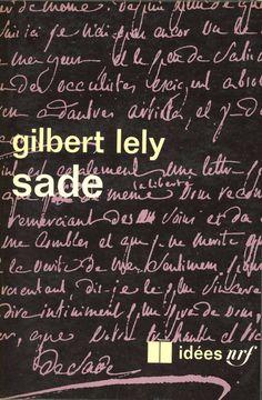 Idées no. 120 (literature), published by Gallimard, Paris, 1967. Photo-graphisme: Henry Cohen
