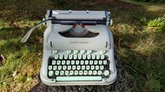 1965 Vintage Swiss Made Hermes 3000. Same model as the last typewriter that Jack Kerouac used.